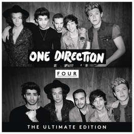 FOUR -DELUXE- CD-SIZED ECOL-BOOK SLEEVE ONE DIRECTION, CD