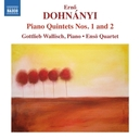 PIANO QUINTETS NO.1 & 2 ENSO QUARTET/GOTTLIEB WALLISCH