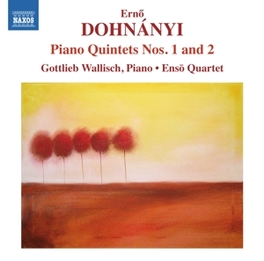 PIANO QUINTETS NO.1 & 2 ENSO QUARTET/GOTTLIEB WALLISCH E. DOHNANYI, CD