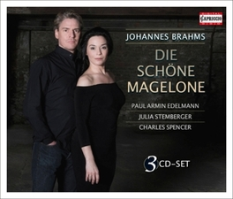 DIE SCHONE MAGELONE ARMIN EDELMANN/JULIA STEMBERGER/CHARLES SPENCER J. BRAHMS, CD