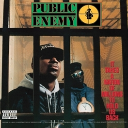 IT TAKES A.. -DELUXE- .. NATION OF MILLIONS TO HOLD US BACK PUBLIC ENEMY, CD