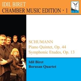 CHAMBER MUSIC EDITION 1 BORUSAN QUARTET IDIL BIRET, CD