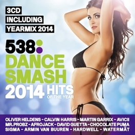 538 DANCE SMASH HITS OF.. .. THE YEAR 2014 V/A, CD