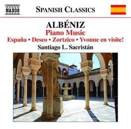 PIANO MUSIC SANTIAGO L.SACRISTAN I. ALBENIZ, CD