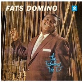 FABULOUS MR. D -HQ- 2 BONUS TRACKS / 180GR. FATS DOMINO, Vinyl LP
