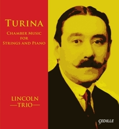 CHAMBER MUSIC FOR STRINGS LINCOLN TRIO J. TURINA, CD