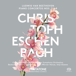 PIANO CONCERTOS NO.3 & 5 BOSTON S.O./LONDON S.O./SEIJI OZAWA/HANS WERNER HENZE L. VAN BEETHOVEN, CD