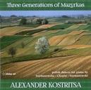 THREE GENERATIONS OF MAZU ALEXANDER KOSRITSA