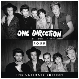 FOUR -DELUXE- DVD-SIZED ECOL-BOOK SLEEVE ONE DIRECTION, CD