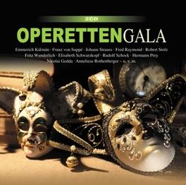 OPERETTENGALA FRITZ WUNDERLICH/ELISABETH SCHWARZKOPF/R.SCHOCK/PREY.. V/A, CD