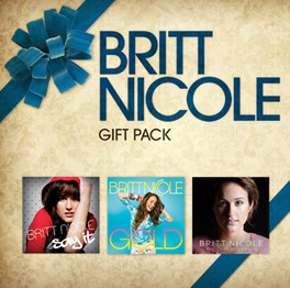 GIFT PACK 3 ALBUMS: GOLD / SAY IT / THE LOST GET FOUND BRITT NICOLE, CD