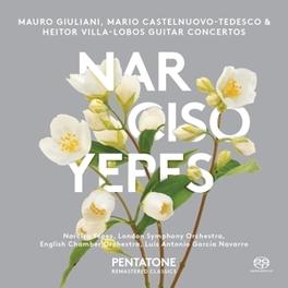 GUITAR CONCERTOS LONDON SYMPHONY ORCHESTRA/GARCIA NAVARRO/YEPES VILLA-LOBOS/GIULIANI/CAST, CD