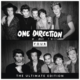 FOUR (BNL) -DELUXE- DVD-SIZED ECOL-BOOK SLEEVE / BENELUX EDITION ONE DIRECTION, CD