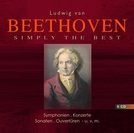 SIMPLY THE BEST CASADESUS/GILELS/BACKHAUS/WAND/KARAJAN/BLOMSTEDT/WP... L. VAN BEETHOVEN, CD