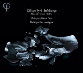 INFELIX EGO COLLEGIUM VOCALE GENT/PHILIPPE HERREWEGHE W. BYRD, CD