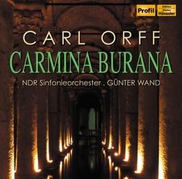 CARMINA BURANA NDR S.O./GUNTER WAND C. ORFF, CD