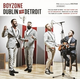 DUBLIN TO DETROIT BOYZONE, CD