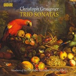 TRIO SONATAS FINNISH BAROQUE ORCHESTRA/KAAKINEN-PILCH C. GRAUPNER, CD