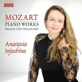 PIANO WORKS ANASTASIA INJUSHINA W.A. MOZART, CD