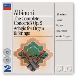 COMPL.CONC.OP.9 & ADAGIO I MUSICI Audio CD, T. ALBINONI, CD