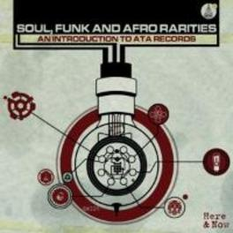 FUNK SOUL & AFRO RARITIES AN INTRODUCTION TO ATA RECORDS V/A, CD