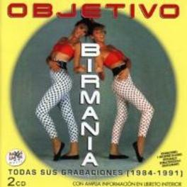 TODAS SUS GRABACIONES 1984-1991 OBJETIVO BIRMANIA, CD