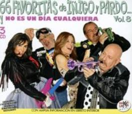 LAS 66 FAVORITAS DE..-8 .. JOSE MARIA INIGO Y JOSE RAMON PARDO V.8 V/A, CD