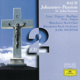 JOHANNES-PASSION W/MUNCHENER BACH ORCH., RICHTER Audio CD, J.S. BACH, CD