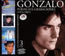 TODAS SUS GRABACIONES 1976-87 GONZALO, CD