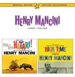HATARI/HIGH TIME PLUS 4 BONUS TRACKS/MUSIC BY HENRY MANCINI OST, CD