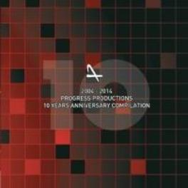 10 YEARS OF PROGRESS PRODUCTIONS 2004-2014 V/A, CD