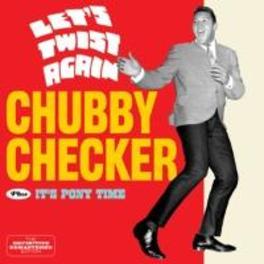 LET'S TWIST AGAIN/IT'S.. ..PONY TIME/ 6 BONUS TRACKS/24BIT DIGITAL RM CHUBBY CHECKER, CD