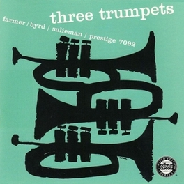 THREE TRUMPETS ART/DONALD BYRD/I FARMER, Vinyl LP