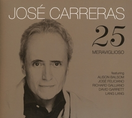 25 JOSE CARRERAS, CD