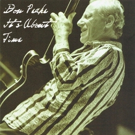 IT'S ABOUT TIME DON PEAKE, CD
