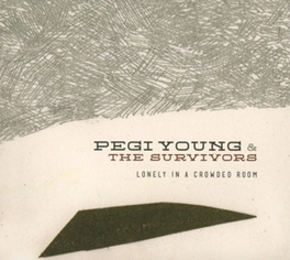 LONELY IN A CROWDED ROOM YOUNG, PEGI & THE SURVIVO, CD