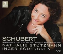 DIE SCHONE MULLERIN/WINTE NATHALIE STUTZMANN F. SCHUBERT, CD
