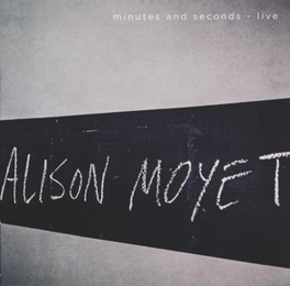 MINUTES AND SECONDS-LIVE .. LIVE ALISON MOYET, CD