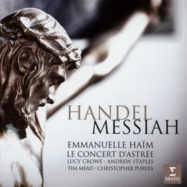 MESSIAH EMMANUELLE HAIM G.F. HANDEL, CD