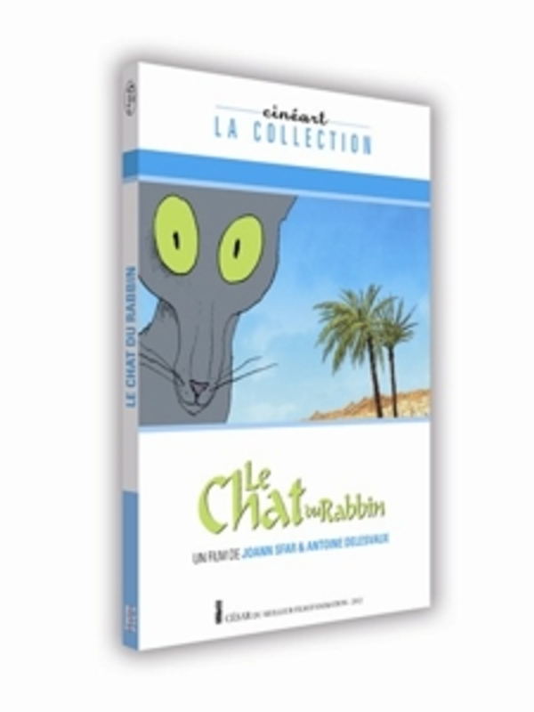 Le chat du rabbin, (DVD) CINEART LA COLLECTION ANIMATION, DVD
