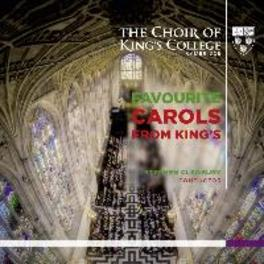 FAVOURITE CAROLS FROM.. CLEOBURY CHOIR OF OF KING'S COLLEG, CD