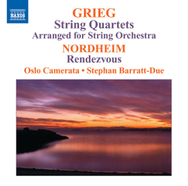 STRING.. OSLO CAMERATA/STEPHAN BARRATT-DUE GRIEG/NORDHEIM, CD