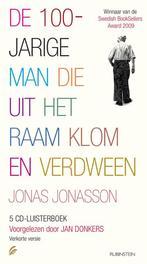 De 100-jarige man die uit het raam klom en verdween .. UIT HET RAAM KLOM EN VERDWEEN // JONAS JONASSON Luisterboek, Jonas Jonasson, Book, misc
