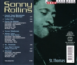 ST. THOMAS Audio CD, SONNY ROLLINS, CD