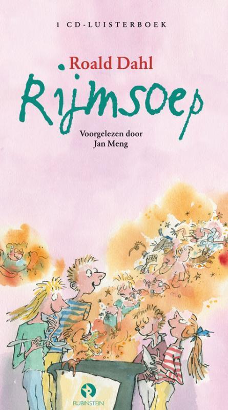Rijmsoep ROALD DAHL / VOORGELEZEN DOOR JAN MENG luisterboek, Roald Dahl, Book, misc