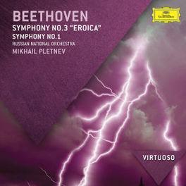 SYMPHONIES NO.1 & 3/EROIC R.N.O./MIKHAIL PLETNEV L. VAN BEETHOVEN, CD