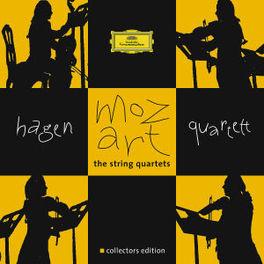 STRING QUARTETS HAGEN QUARTETT Audio CD, W.A. MOZART, CD