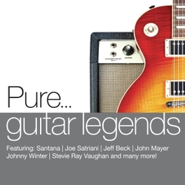 PURE... GUITAR LEGENDS FT. SANTANA/JEFF BECK/JOE SATRIANI A.O. V/A, CD