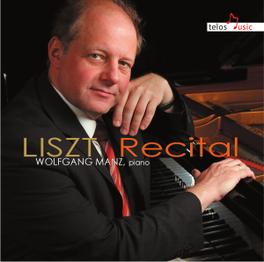 RECITAL WOLFGANG MANZ F. LISZT, CD
