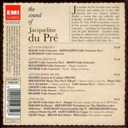 SOUND OF.. -LTD- .. JACQUELINE DU PRE JACQUELINE DU PRE, CD